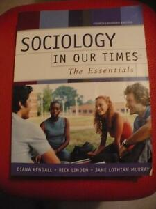 SOCIOLOGY in our times 4TH Canadian Edition