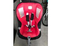 Reclining car seat