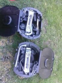 tyre changing set / audi vw seat skoda