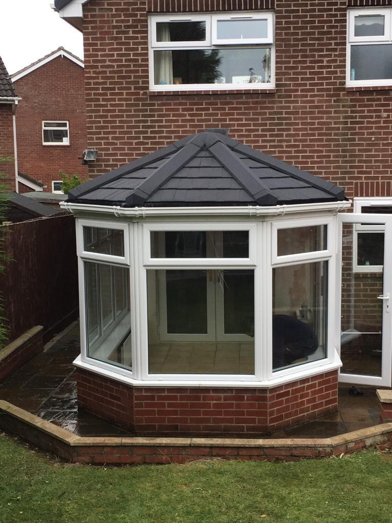 Conservatory conversion for £1995