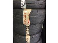 2x 225 45 17 Pirelli part worn tyres free fitting
