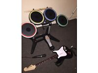 PS4 Rockband 4 game and equipment