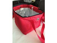 HOT FOOD DELIVERY BAG FULLY INSULATED-**********AVAILABLE TO BUY FROM EBAY UK ***********
