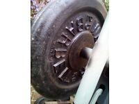 weights plates 2 x 25 kg