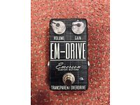Emerson Custom EM Drive Transparent Overdrive - Custom Limited Smoke Edition