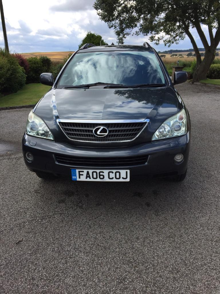 Lexus RX400h. Petrol/Hybrid. 12 months MOT , Cambelt changed. 2006 model with all extras.