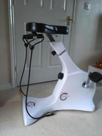 Cycle Tone seated Exercise Bike & Toning System