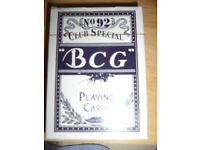1 set of BCG playing cards for sale