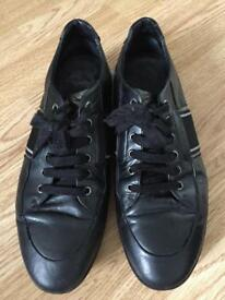 Hugo boss leather shoes