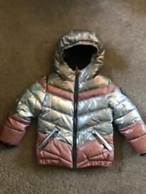 Girls bomber jacket age 3