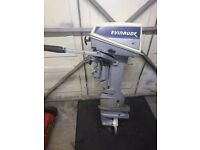 Evinrude 6 hp outboard engine