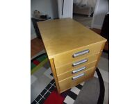 Ikea Galant Office 4 Draw Unit