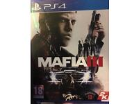 Mafia 3 for PS4 (barely used)