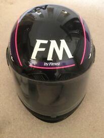 FM Motor Bike Helmet - full face. £10