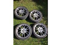 "O.Z Racing Wheels 4x100 17"""