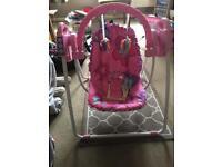 Fisher price girls swing