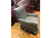 FREE! Large comfortable blue armchair with washable cover