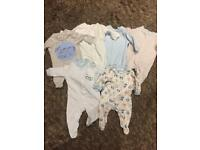 6 F&F Sleepsuits. Up to 5lbs.