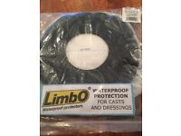 Limbo waterproof protection for casts and dressings
