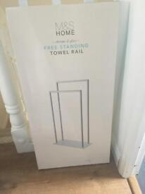 Marks and Spencer's towel rail