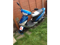 Moped bicycle petrol 50 cm3s, with oil in motor and 4 strokes