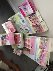 ElC rosebud collection- cottage, hospital, bus plus many more