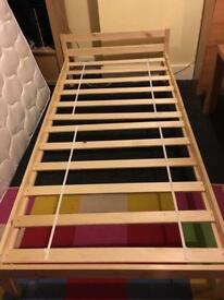 2 standard sized single beds