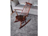 Vintage Retro Ercol Goldsmith Elm Rocking Chair