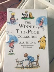 Winnie the Pooh traditional book collection set