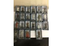 Dr Who figurines,22 boxed,as new figures