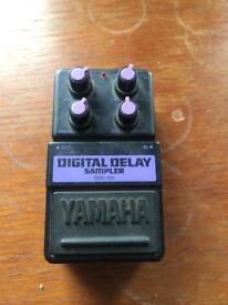Yamaha DDs100- Delay, Samplerer