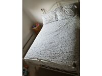 Shabby Chic French Style White Bed Frame
