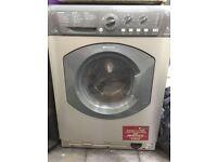 Washer Dryer Hotpoint 7kg WDL540 Aquarius