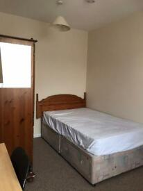 Downstairs bedroom in HMO Tang hall,