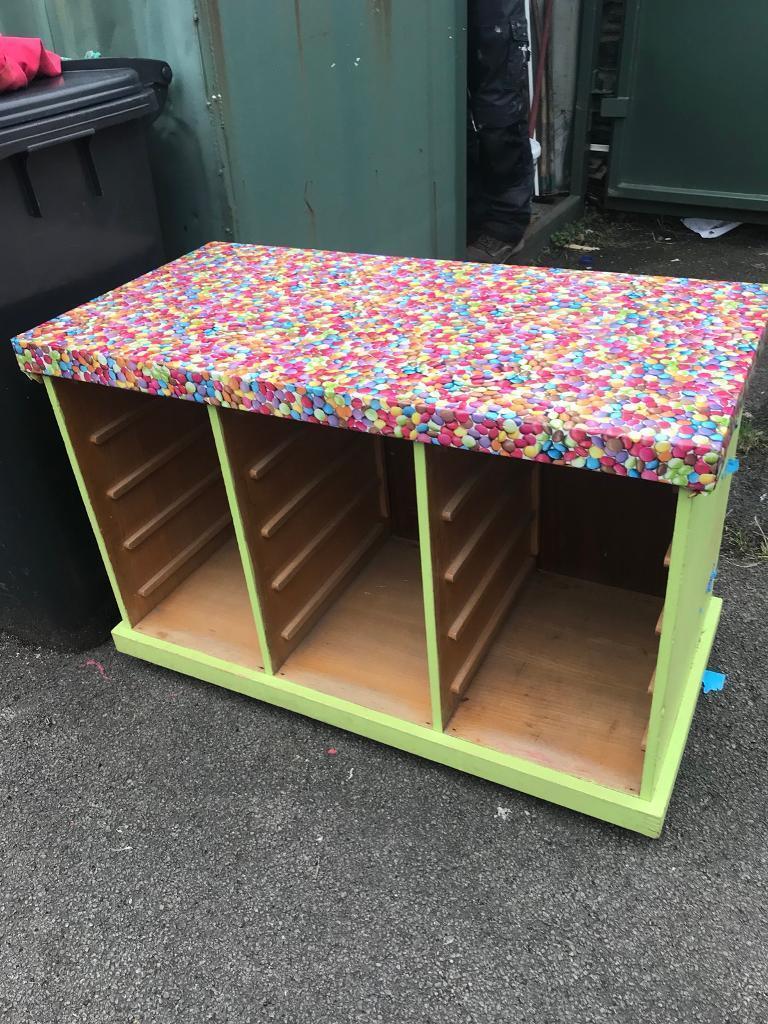 School drawer unit
