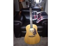 Gibson Epiphone 12 String Acoustic Guitar PR-650-12
