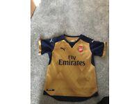 Arsenal shirt medium youth (9-10)