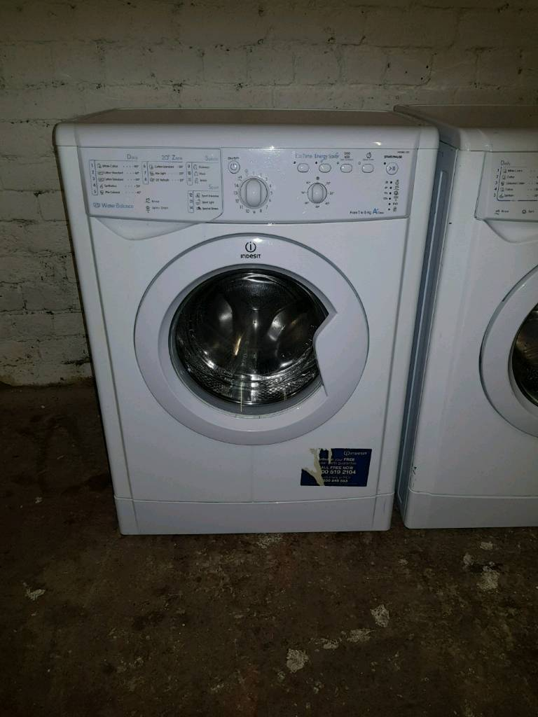 Indesit 6kg washing machine (slim line)