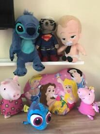 soft toy bundle inc Disney