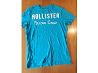 "HOLLISTER MENS ""RESCUE CREW"" T-SHIRT (LARGE)"