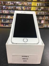 IPHONE 6 16GB O2 EXCELLENT CONDITION