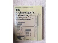The Archaeologist's Laboratory: The Analysis of Archaeological Data by Banning