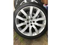 "Range Rover Sport 20"" Alloys x4 plus tyres"