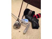 Ping Karsten putter and other clubs