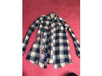 Womens Hollister checked shirt