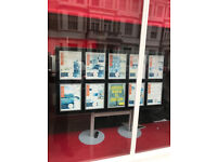 LED Retail Display - ideal for estate agents