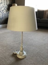 Cream/White simple lamp