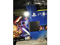 Sony Playstation 4 console 500 GB with 4 Games *Limited time offer*