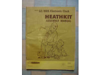 Assembly manual for Heathkit GC-1005 clock