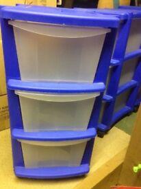 Storage Units x3